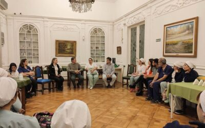 Reunión de Staff en Villa Juncal